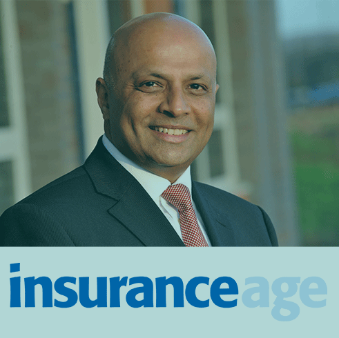 Ashwin Mistry in Insurance Age